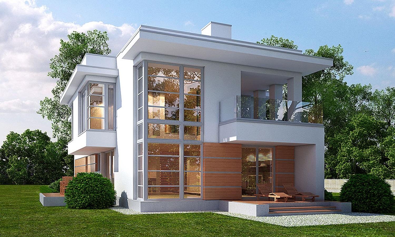 миниатюрные двухэтажные дома фото