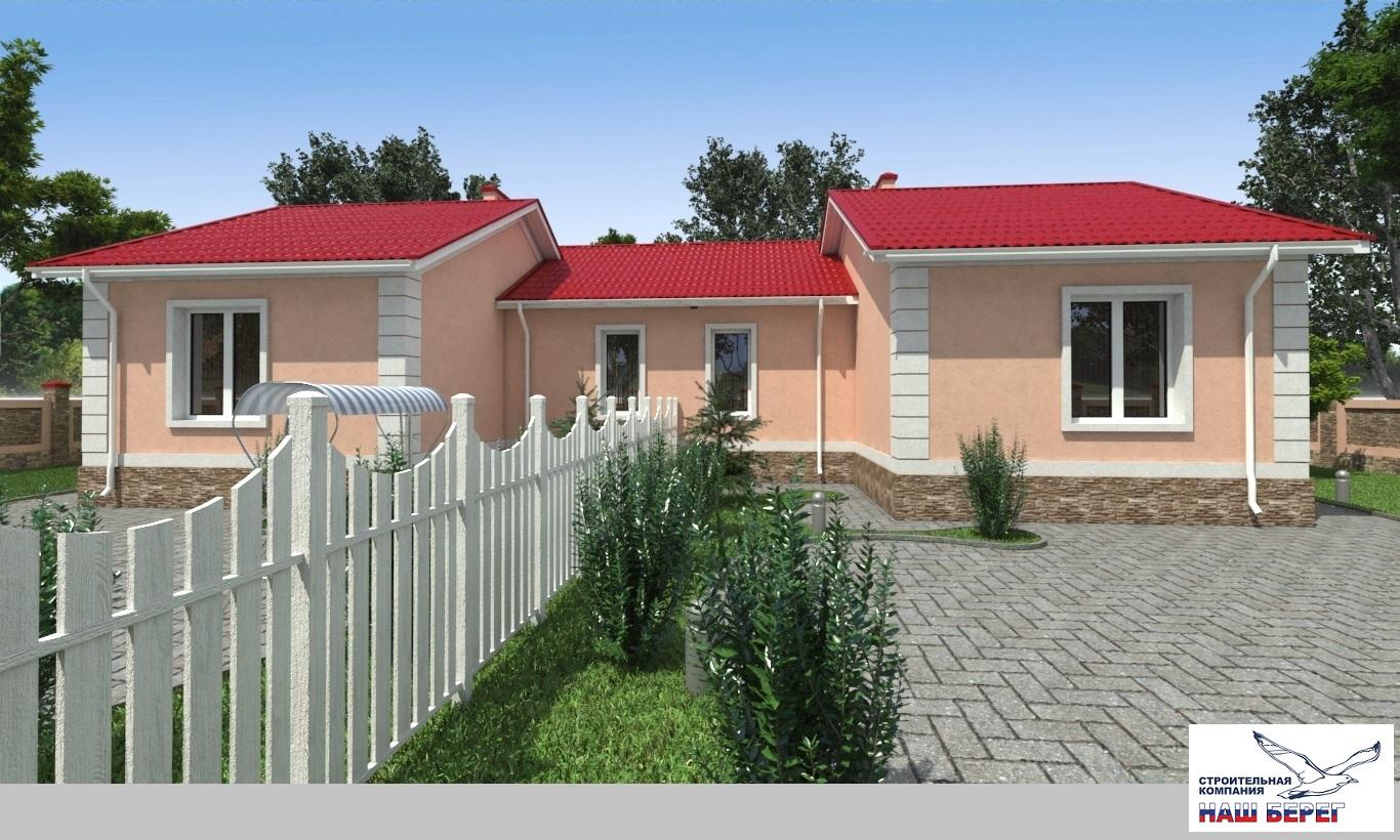 """Проект дома """"КОРАЛЛ -1"""""""