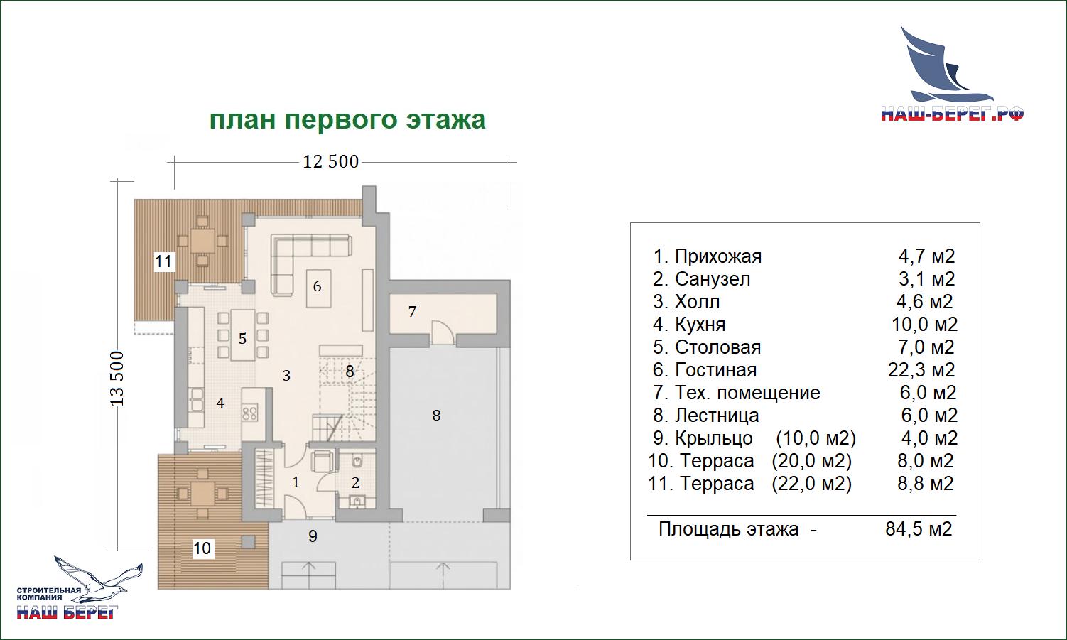"""Проект дома """"ОДИССЕЙ"""""""
