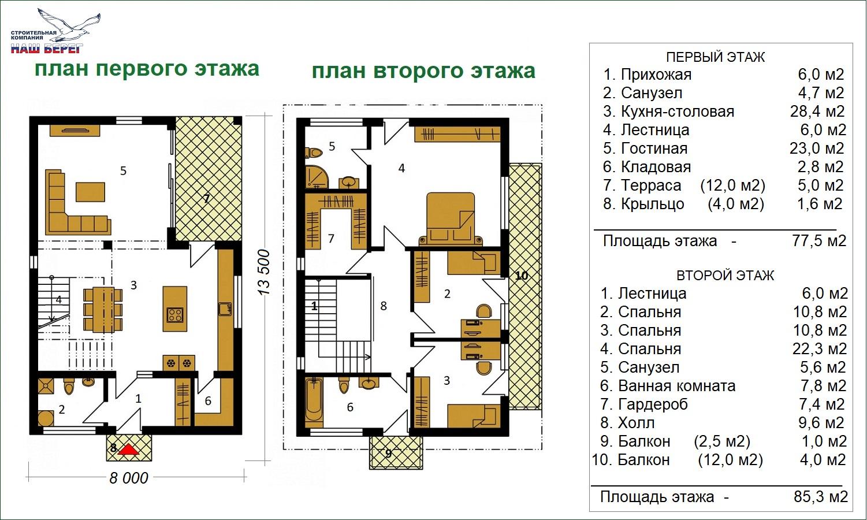 """Проект дома """"РОСТОВ"""""""