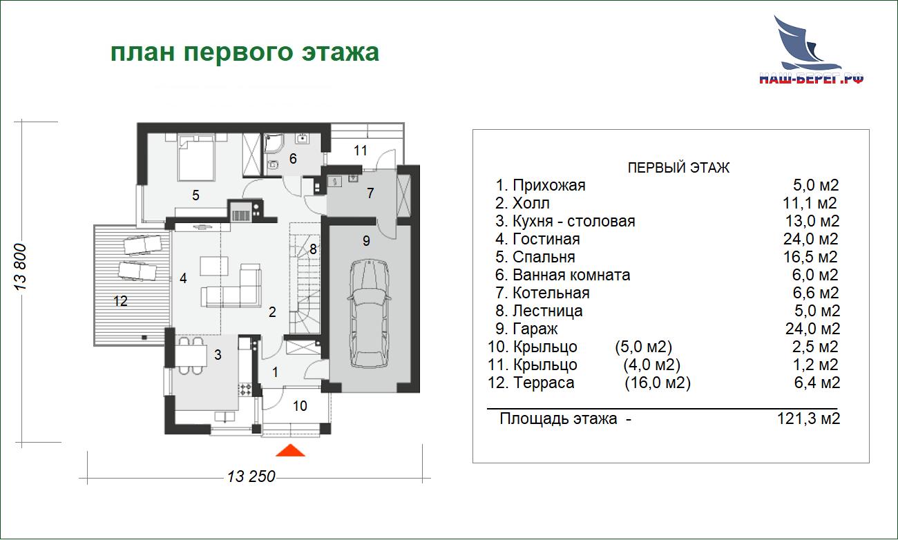 """Проект дома """"СУДАК"""""""