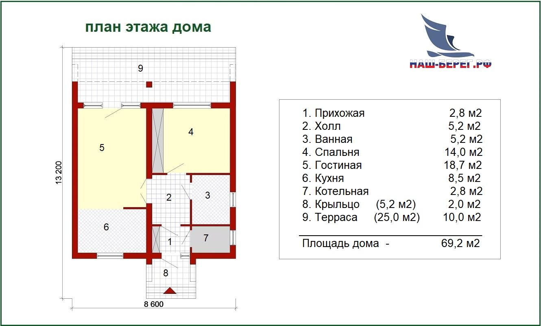 """Проект дома """"ВИКТОРИЯ"""""""