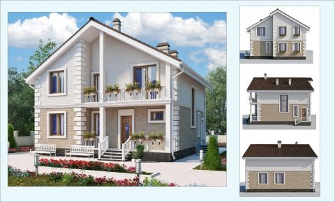 "Проект дома ""БАЙКАЛ - 2"""