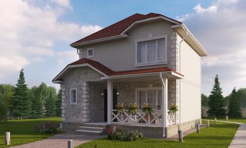 """Проект дома """"ИСТРА"""""""